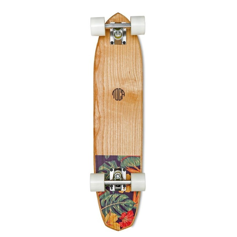 photo Skateboard Cruiser Toca Floral 2