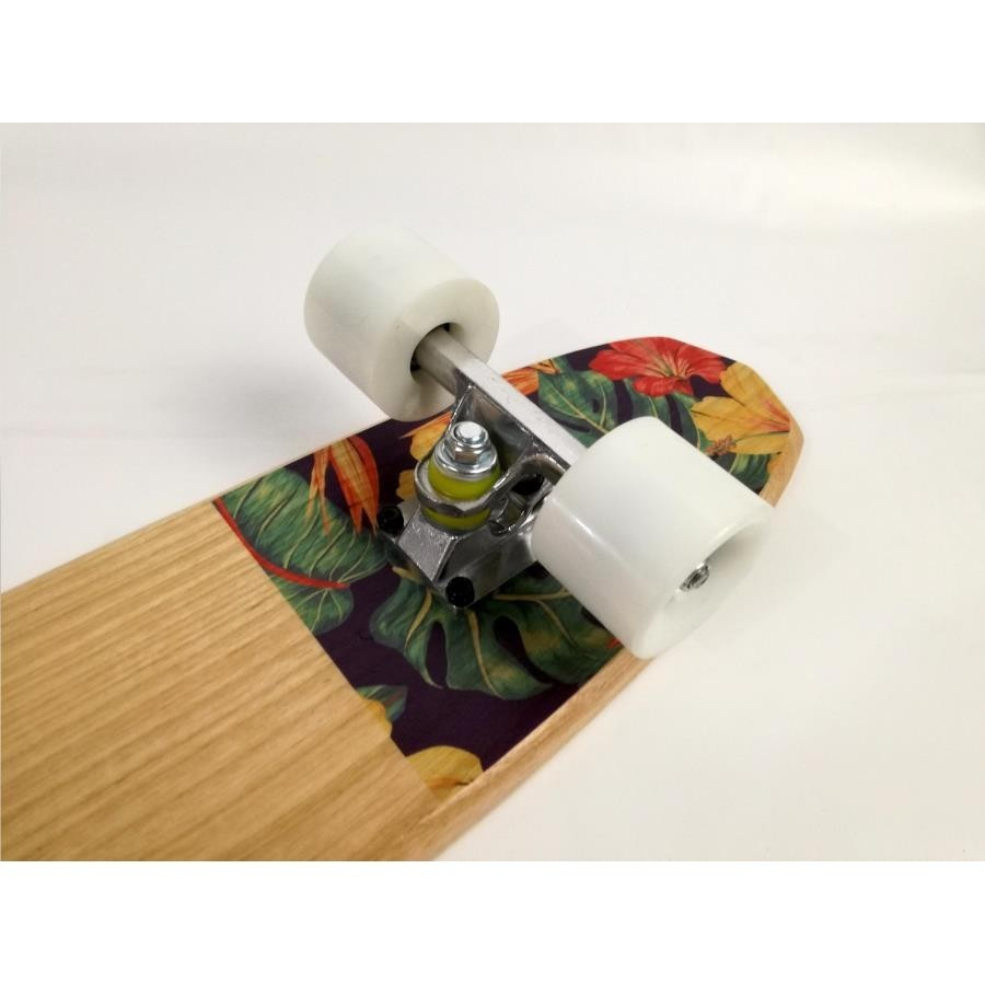photo Skateboard Cruiser Toca Floral 3