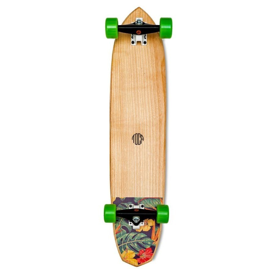 photo Skateboard Longboard Toca Floral