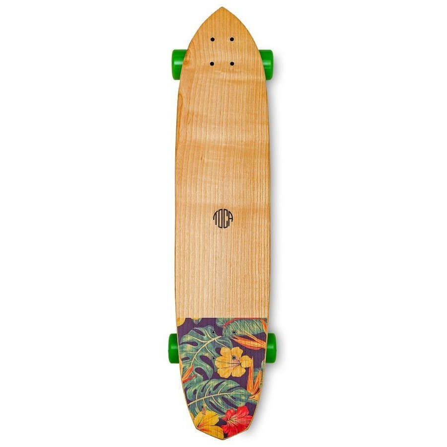 photo Skateboard Longboard Toca Floral 2